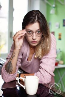 Lisa Christ, Autorin und Slam-Poetin - Portrait für die Schweizer Illustrierte