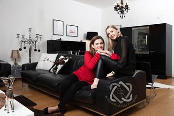 Gianna Habluetzel, Fechterin und Politikerin mit Tochter Demi für die Glückspost