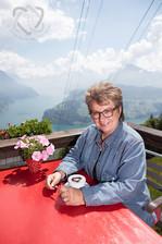 Blanca Imboden, Schriftstellerin - Portrait für die Glückspost