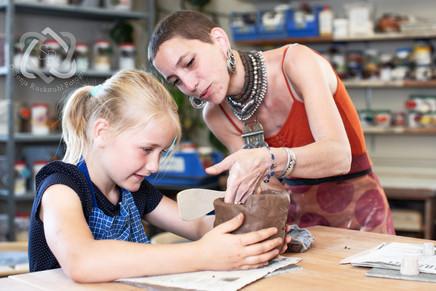 Familienreportage Keramikwerk - Schweizer Illustrierte