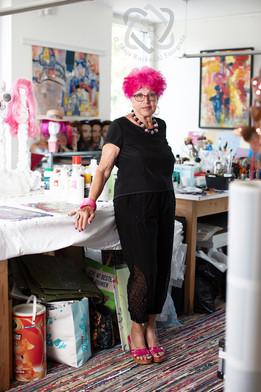 Johanna Schneider, Künstlerin und Limmex-Award-Gewinnerin - Portrait für die Schweizer Illustrierte