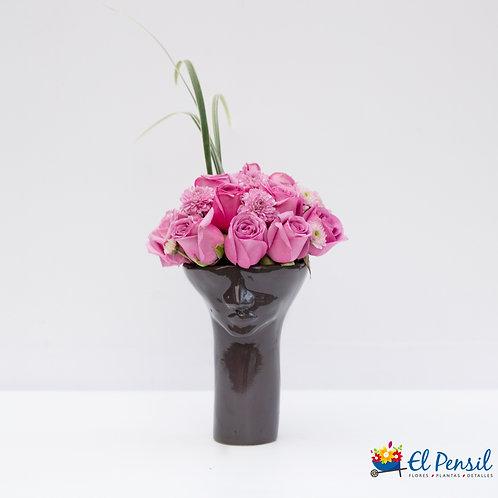 Base Sansón con rosas y pinoquios