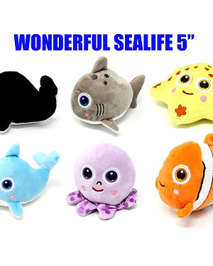 Wonderful Sealife Assorted 5""
