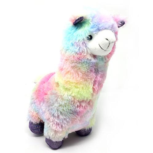 "Rainbow Llama 12"""