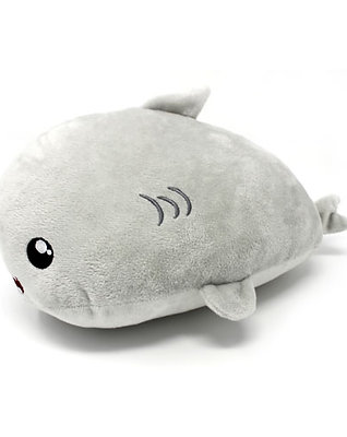 Shark Shark Plush Gray 10""