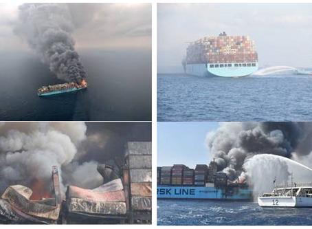 Fire on Board - What it can mean to NZ exporters