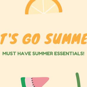 2020 Summer Essentials!