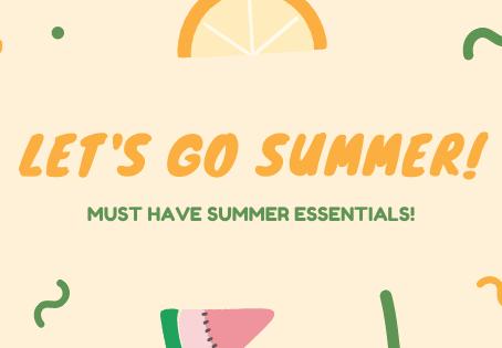 2020 Summer Essentials