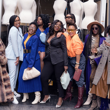 Black History Month: Black Women Getting Together & Creating Magic!