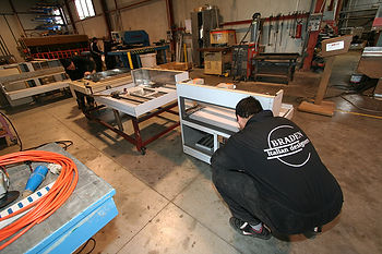 manufacturing a show cabinet