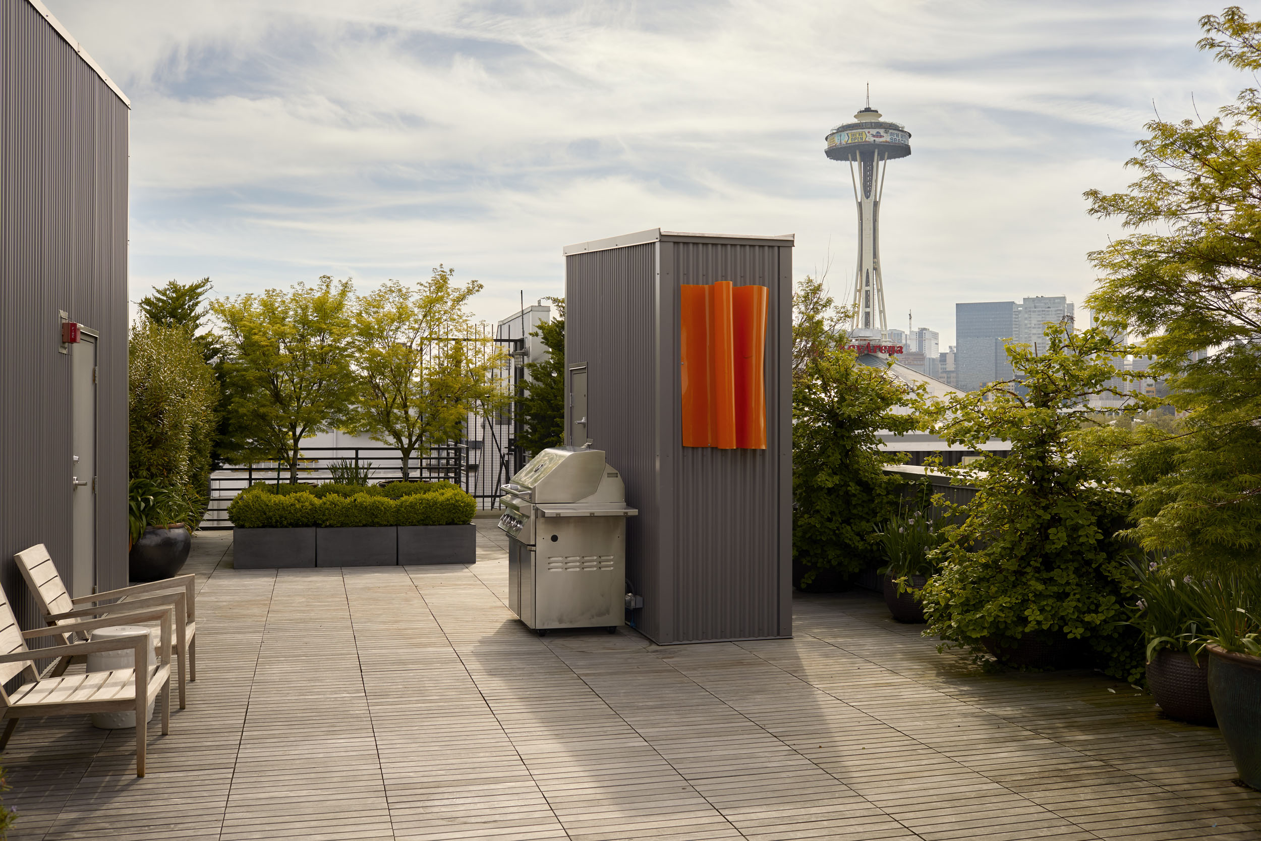 Roof Deck & Space Needle