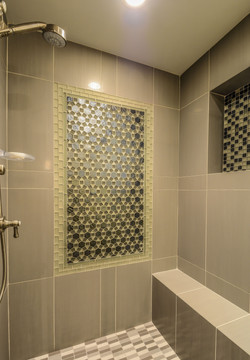 Main Floor Bathroom shower