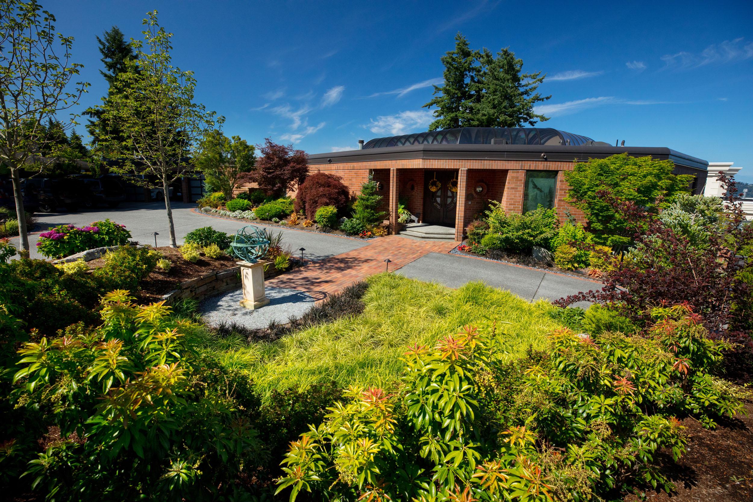 Exterior Entry Garden