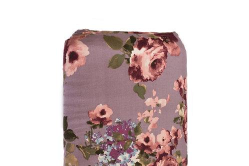 Mauve Floral   per half yard