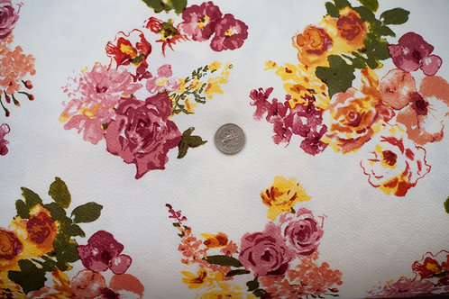 Floral Liverpool \ by the half yard
