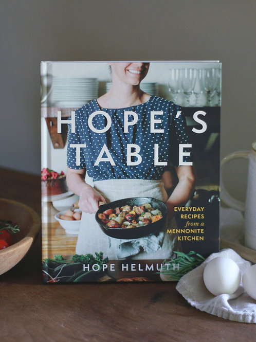 Hope's Table Cookbook