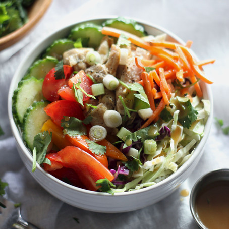 Spring Roll Rice Bowls