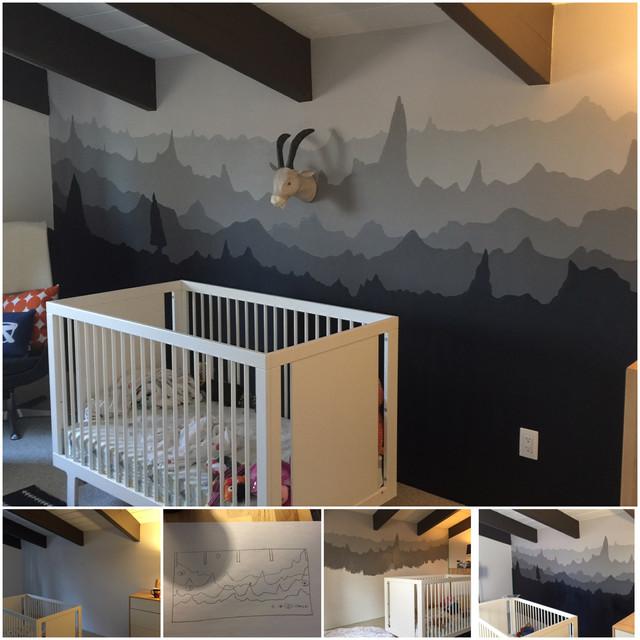 Mountain View DIY Mural