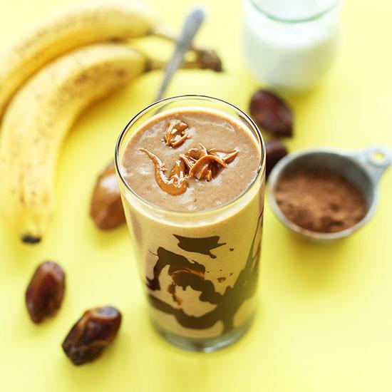 Recipe: Chocolate Peanut Butter Banana  Shake