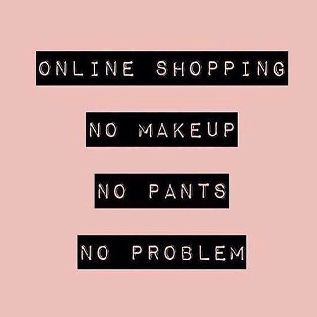 Online shopping for the win!