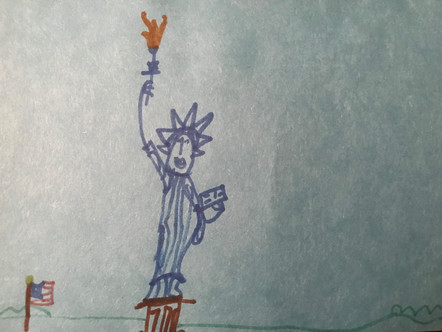 My Son's Obsession With the Statue of Liberty Makes Me Hopeful