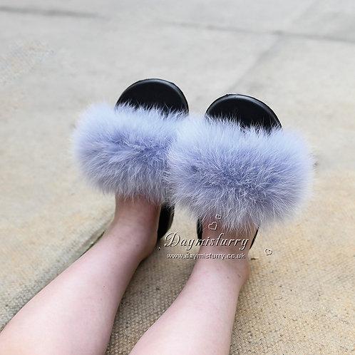 Fox Fur Kid's Slide - Air Blue