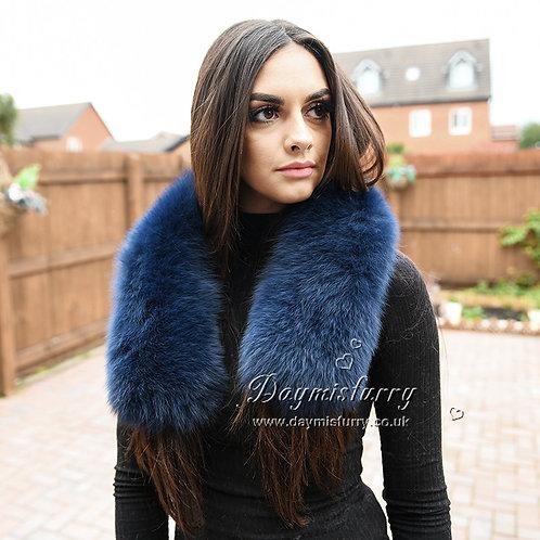 DMA92C Fox Fur Collar / Scarfs Fur / Scarves Fur