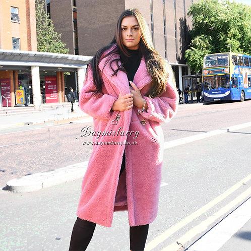 DMGT07B Wool Teddy Bear Jacket / Winter Loose Coat