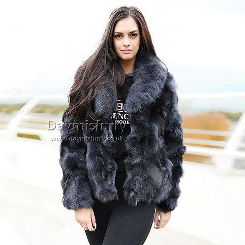 DMGA258C Finn Fox Fur Lady Jacket