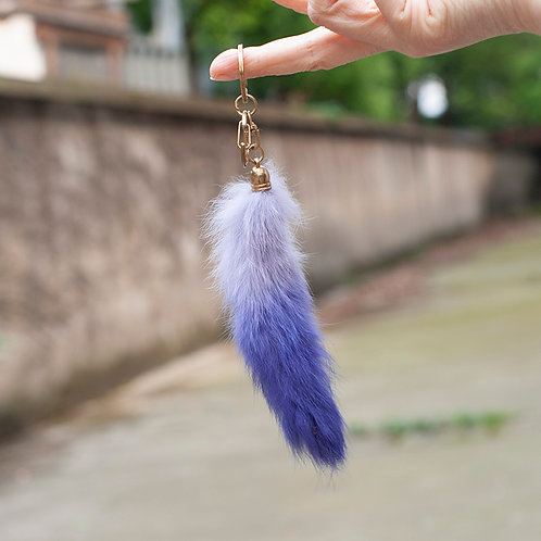 DMR39A Rabbit Fur Bag Charm / Pendant