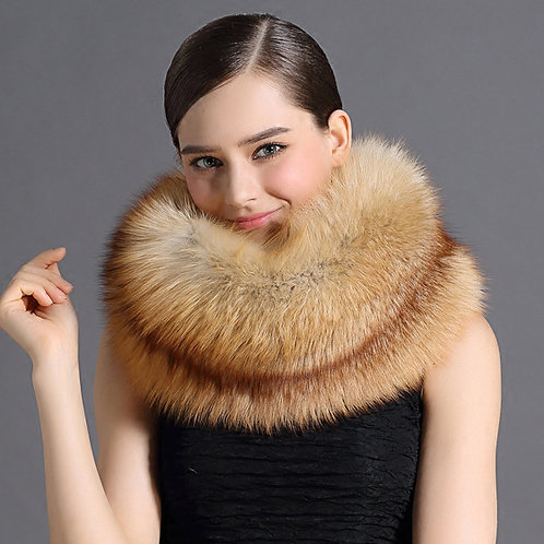 DMS175A Natural Red Fox Cowl