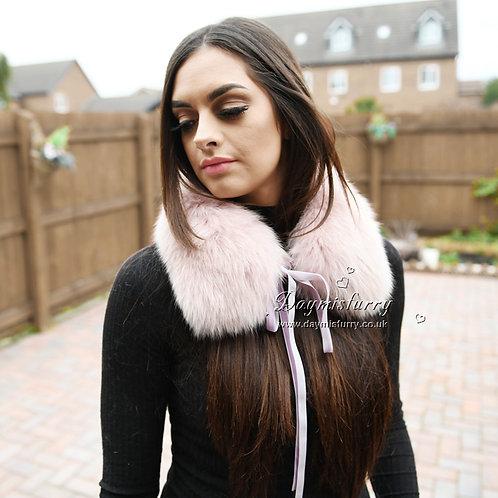 DMA77F Fox Fur Collar / Winter Fur Collar / Fur Scarf