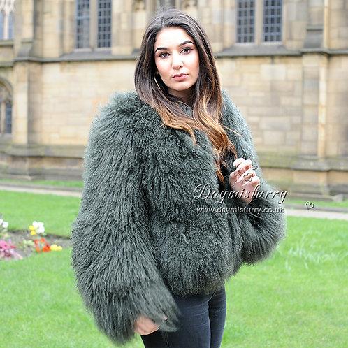 DMGA27H  Mongolia Lamb Fur Jacket