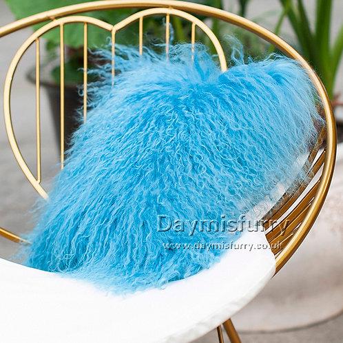 DMD04  Mongolian lamb Fur Pillow / Cushion Case