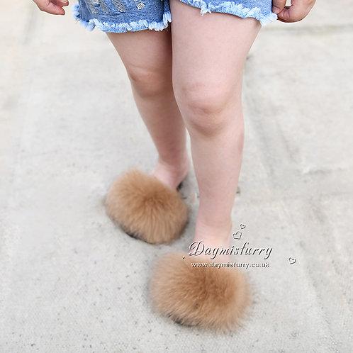 DMA66E Fox Fur Children's Slide - Amber light