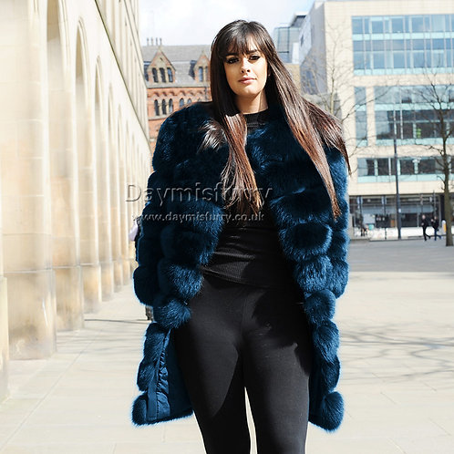 DMGA236C Fox Fur Jacket / Winter Coat