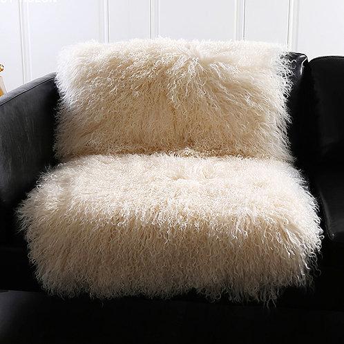 DMD24P Mongolian Lamb Fur Rug