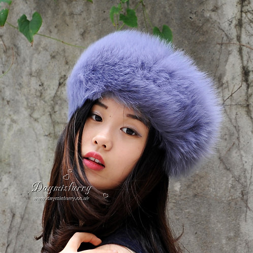 DME17K  Fox Fur Head Bands / Fur Scarf