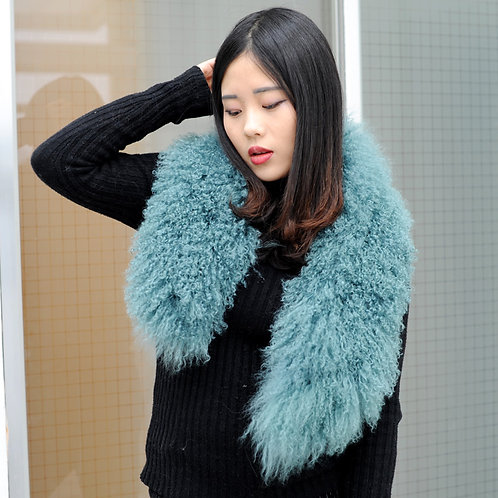 DAMA52V Detachable Mongolian Lamb Fur Collar