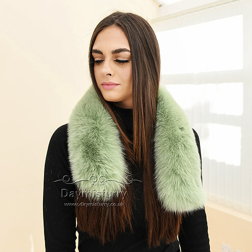 DMA102K Fox Fur Collar / Fox Fur Trim Hood / Parka Collar