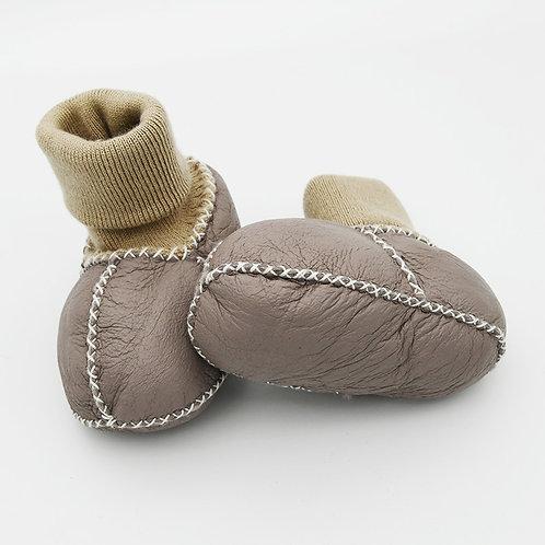 DMA80 Sheepskin baby Shoes with Sheepskin Sole