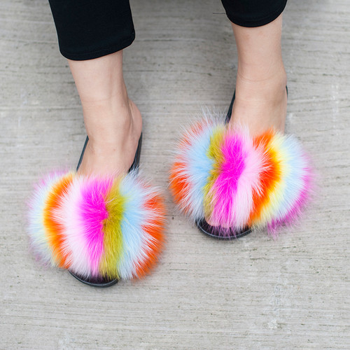fur slipper daymisfurry