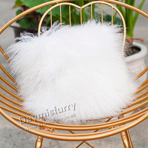 DMD04B  Mongolian lamb Fur Pillow / Cushion Case