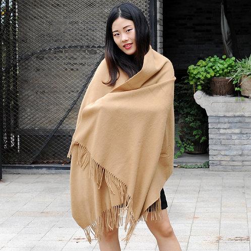 DMBP14 Camel Wool Scarf