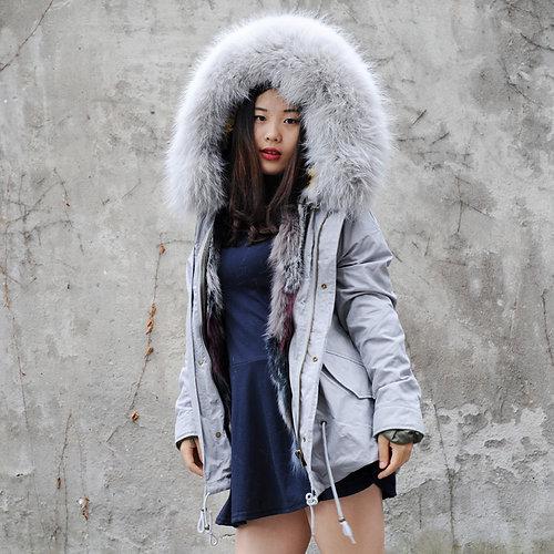 DAYMISFURRY FUR FASHION MANCHESTER | DMGP05M AW18 Dyed Fox Fur ...