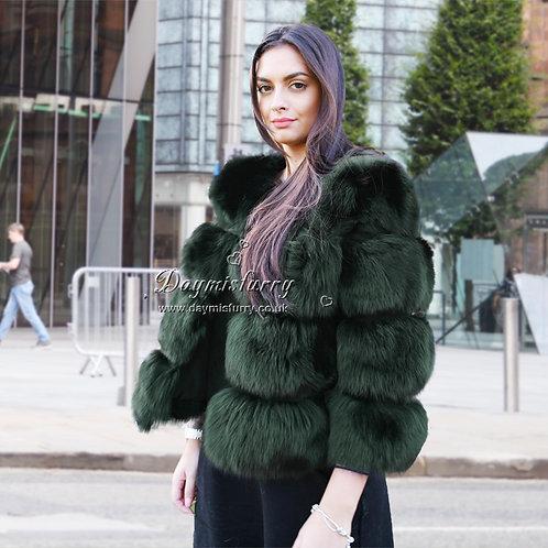DMGA11K  Fox Fur Jacket / Fur Coat