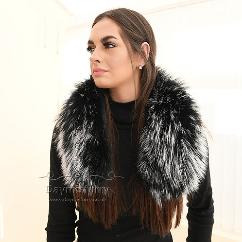 DMA102  Raccoon Fur Scarf / Winter Fur Collar