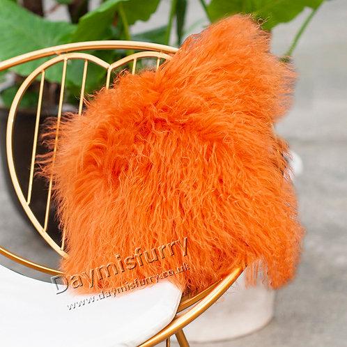DMD04M  Mongolian lamb Fur Pillow / Cushion Case