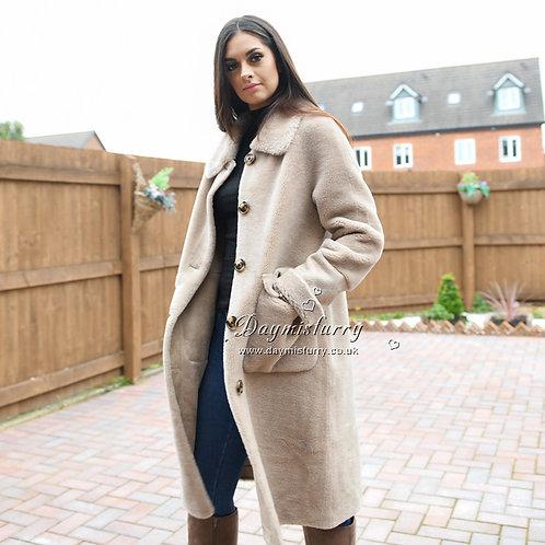 DMGT16 100% Wool Teddy Coat / Teddy Jacket / Winter Jacket