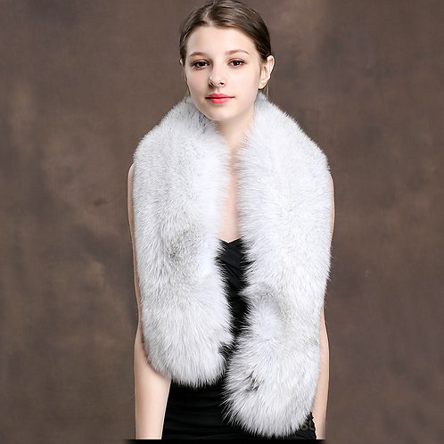 DMS28E Large Fox Fur Collar / Scarfs Fur / Wrap